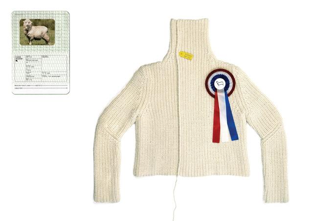Christien-Meindertsma-One-sheep-sweater-2005