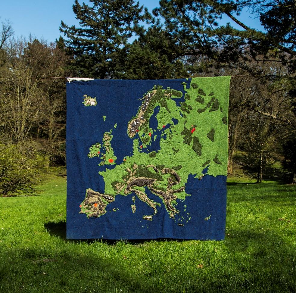 aachenstricktschoen Europakarte Foto Gloria Jansen web