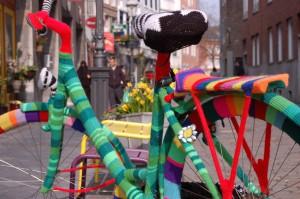 aachenstricktschoen bestricktes Fahrrad 3