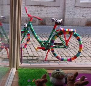 aachenstricktschoen bestricktes Fahrrad 1