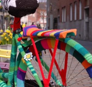 aachenstricktschoen bestricktes Fahrrad 5